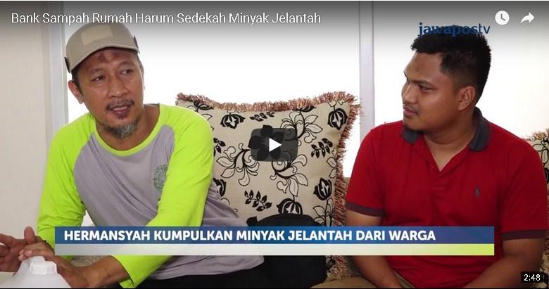 Read more about the article Video Liputan Jawa Pos TV Dan NET TV Tentang Program Sedekah Minyak Jelantah Dan Tukar Minyak Jelantah